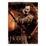 BARDE el cartel de película de BOWMAN™ y de los Felicitaciones
