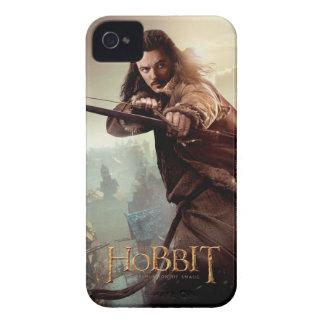 BARDE el poster 3 del carácter de BOWMAN™ Case-Mate iPhone 4 Carcasas
