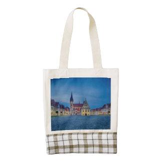 Bardejov in Slovakia Zazzle HEART Tote Bag