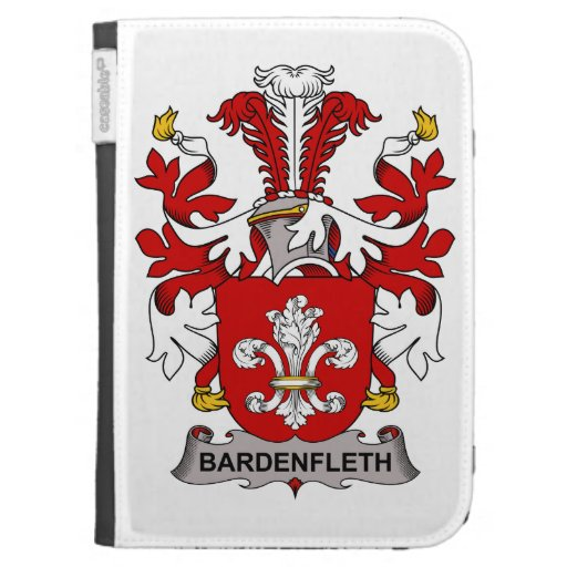 Bardenfleth Family Crest Kindle 3G Covers