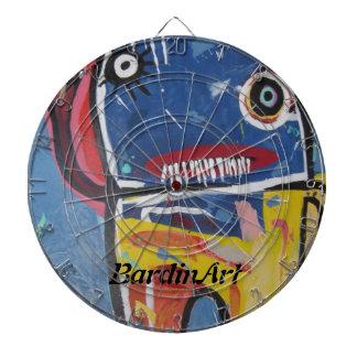 "BardinArt ArtDart Two ""Big Guy"" Dart Board"