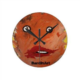 """BardinArt Clock """"Dimented"""""""