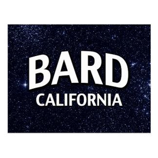 Bardo California Tarjeta Postal