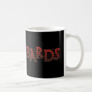 Bardos de la batalla taza de café