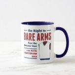 Bare Arms Rick Santorum Sweater Vest 2012 Mug
