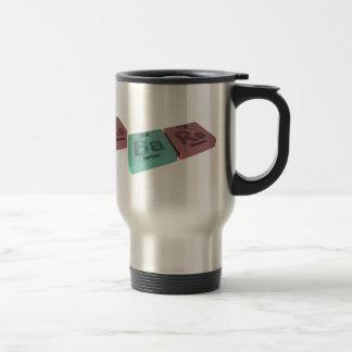Bare  as Ba Barium and Re Rhenium Coffee Mug