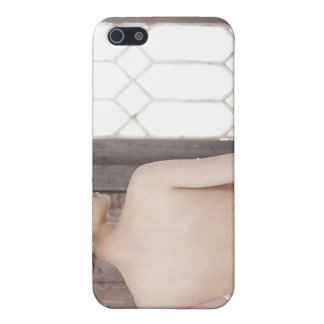 Bare Back of Young Woman iPhone SE/5/5s Cover