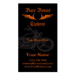 Bare Bones Custom Motorcycle Business Cards