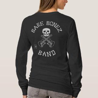 Bare Bonez Band - Ladies Long Sleeve T-Shirt