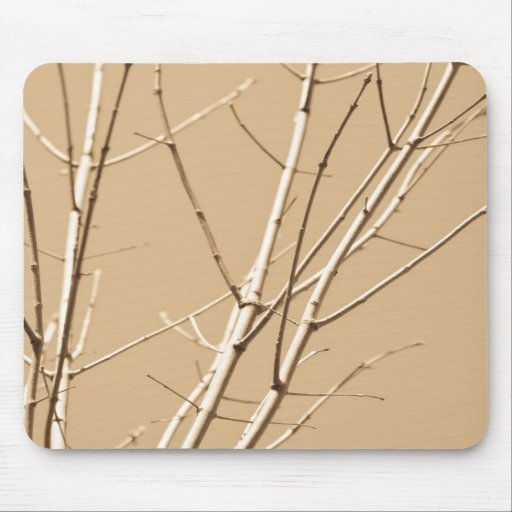 bare branches mousepad