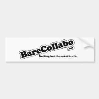 Bare Collabo Bumper Sticker