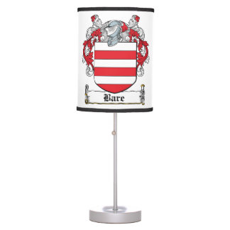 Bare Family Crest Table Lamps