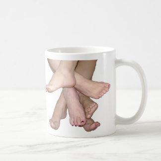 Bare Feet Art Coffee Mug