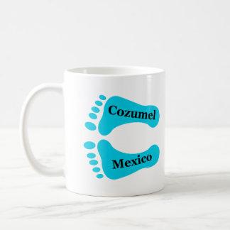 Bare Feet Cozumel Mexico Classic White Coffee Mug