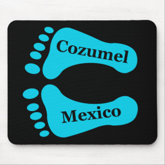 Bare Feet Cozumel Mexico Mouse Pad