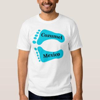 Bare Feet Cozumel Mexico T-shirt
