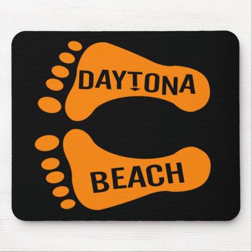 Bare Feet Daytona Beach Mousepad