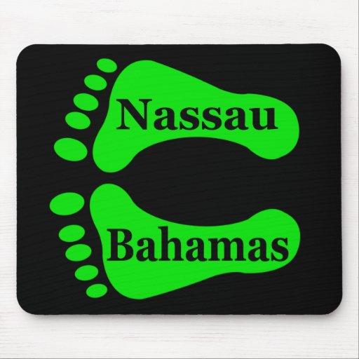 Bare Feet Nassau Bahamas Mouse Pads