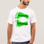 Bare Feet Nassau Bahamas T-Shirt