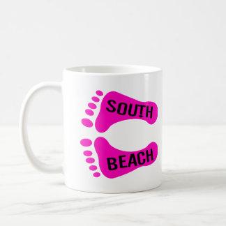 Bare Feet South Beach Coffee Mug