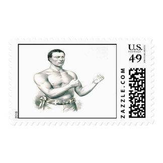 Bare-Knuckeles Boxer John C. Heenan Postage