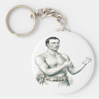 Bare-Knuckles Boxer John C. Heenan - The Champ! Keychain