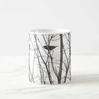 Bare Limb Bird mug