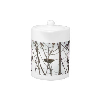 Bare Limb Bird teapot, by H.A.S. Arts Teapot