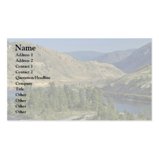 Bare Mountains Business Card