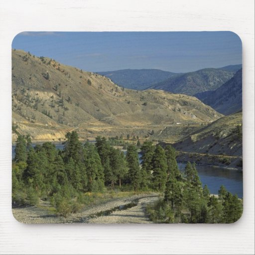 Bare Mountains Mouse Pad