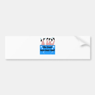 Bare Rear Reef Bumper Sticker
