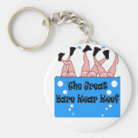 Bare Rear Reef Key Chains