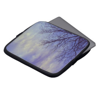 Bare Tree at Dusk Laptop Computer Sleeve
