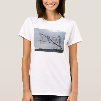Bare tree branches against a cloudy sky T-Shirt
