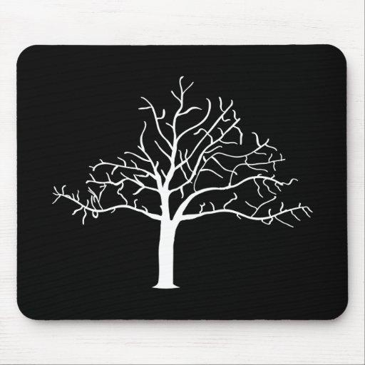 Bare Tree Design Mousepad