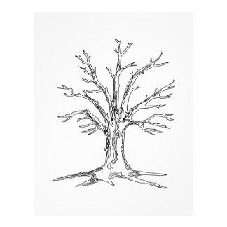 Bare Tree Letterhead