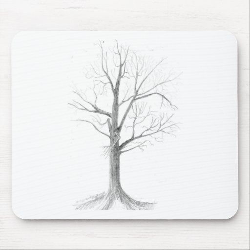 Bare tree mouse pads