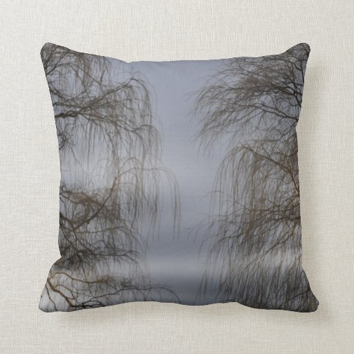 Bare Trees Pillow