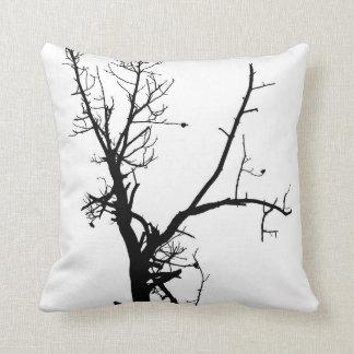 Bare Winter Bare Tree - Pillow