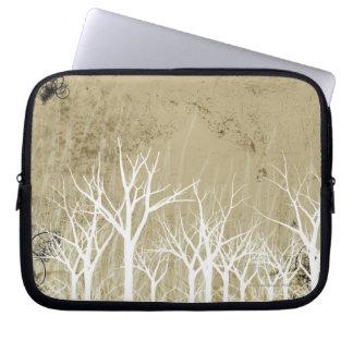 Bare Winter Trees Computer Sleeve