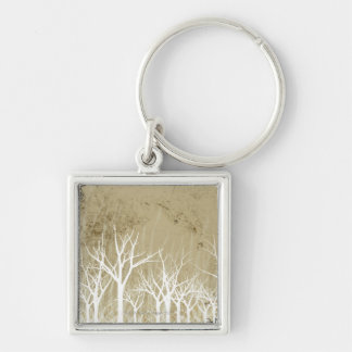 Bare Winter Trees Key Chain