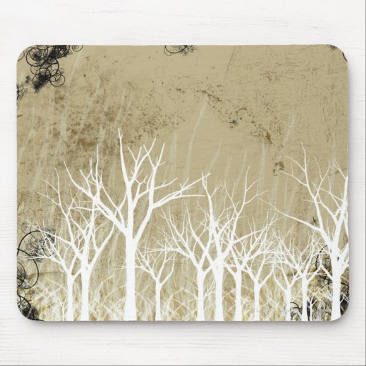 Bare Winter Trees Mousepads