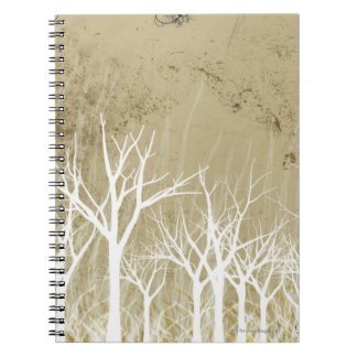 Bare Winter Trees Spiral Notebook