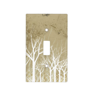 Bare Winter Trees Switch Plate Cover