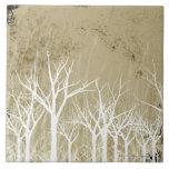 Bare Winter Trees Tile
