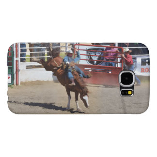 Bareback Bucking Bronco and Rodeo Cowboy Cases