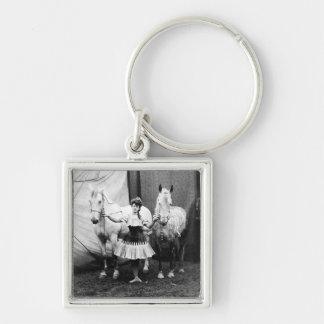 Bareback Girl: 1904 Keychains