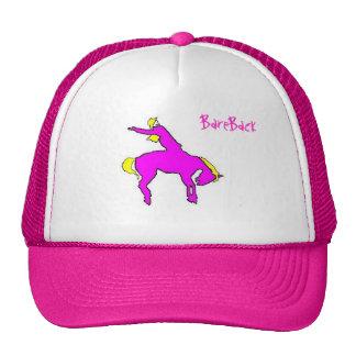 BareBack Hat - Think Pink!