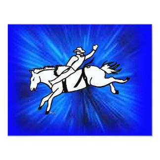 Bareback rider 101 card