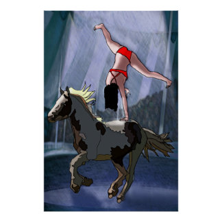 Bareback Rider Poster